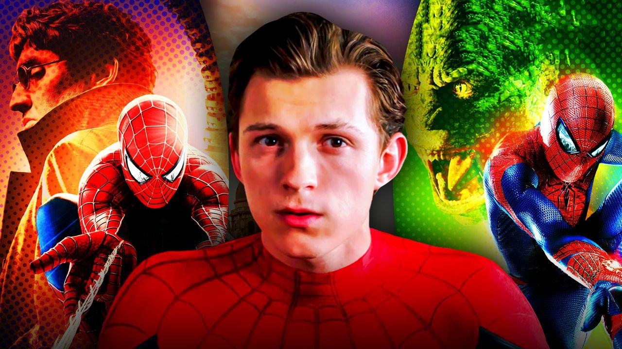 Spider Man Tom Holland Andrew Garfield Toby Maguire