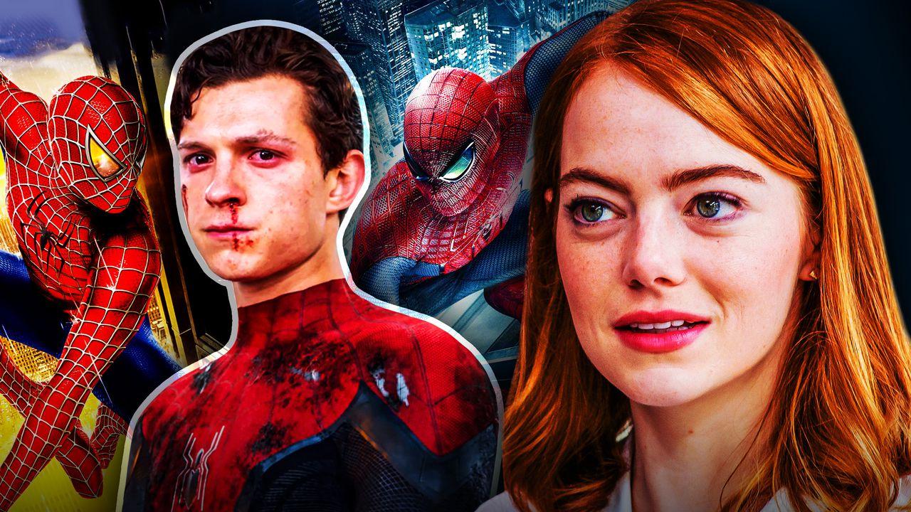Emma Stone Spider-Man Tom Holland