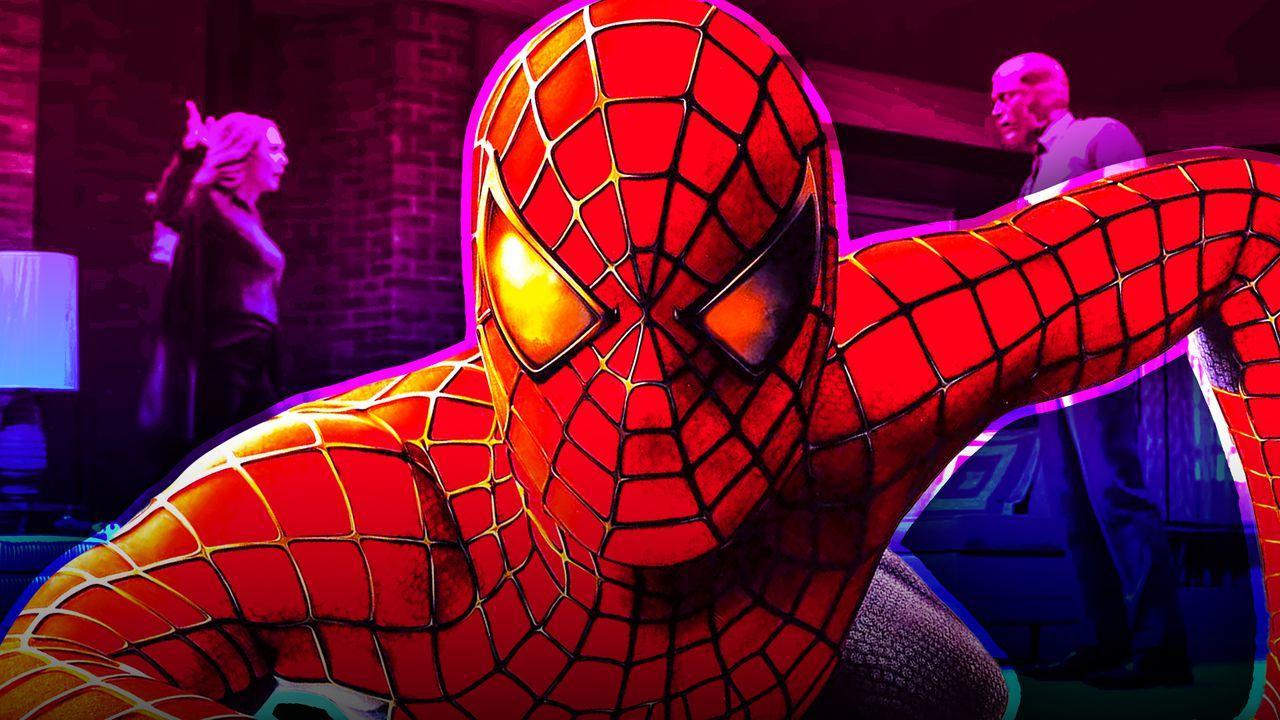 Spider-Man, Wanda and Vision