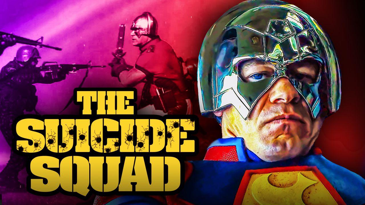 John Cena Peacemaker The Suicide Squad Logo