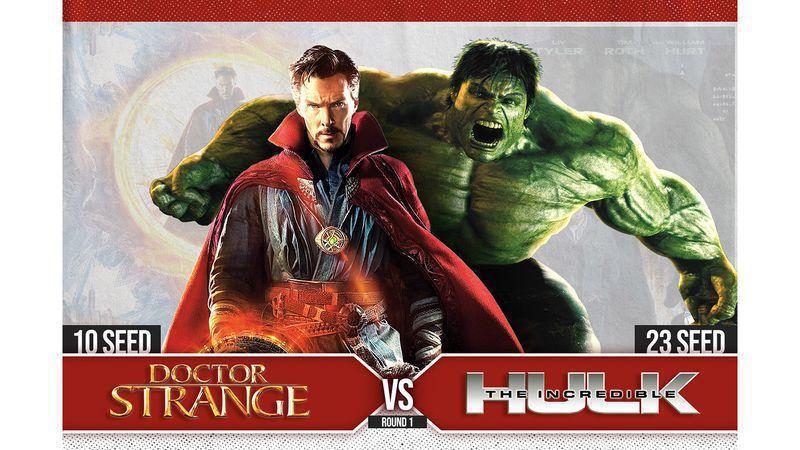 MCU MADNESS ROUND 1: #10 Doctor Strange vs. #23 The Incredible Hulk