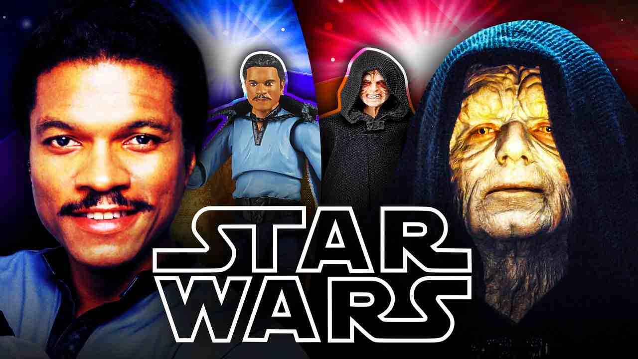 Star Wars Lando Calrissian Palpatine