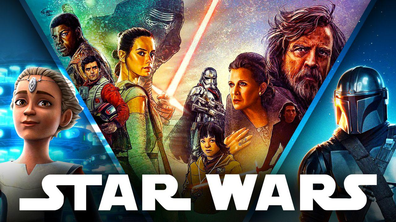 Star Wars Characters Oversaturation