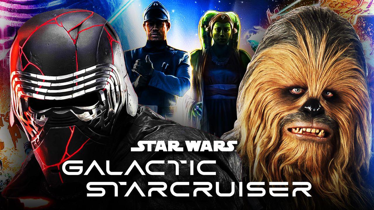 Star Wars Galactic Starcruiser Kylo Ren Chewbacca