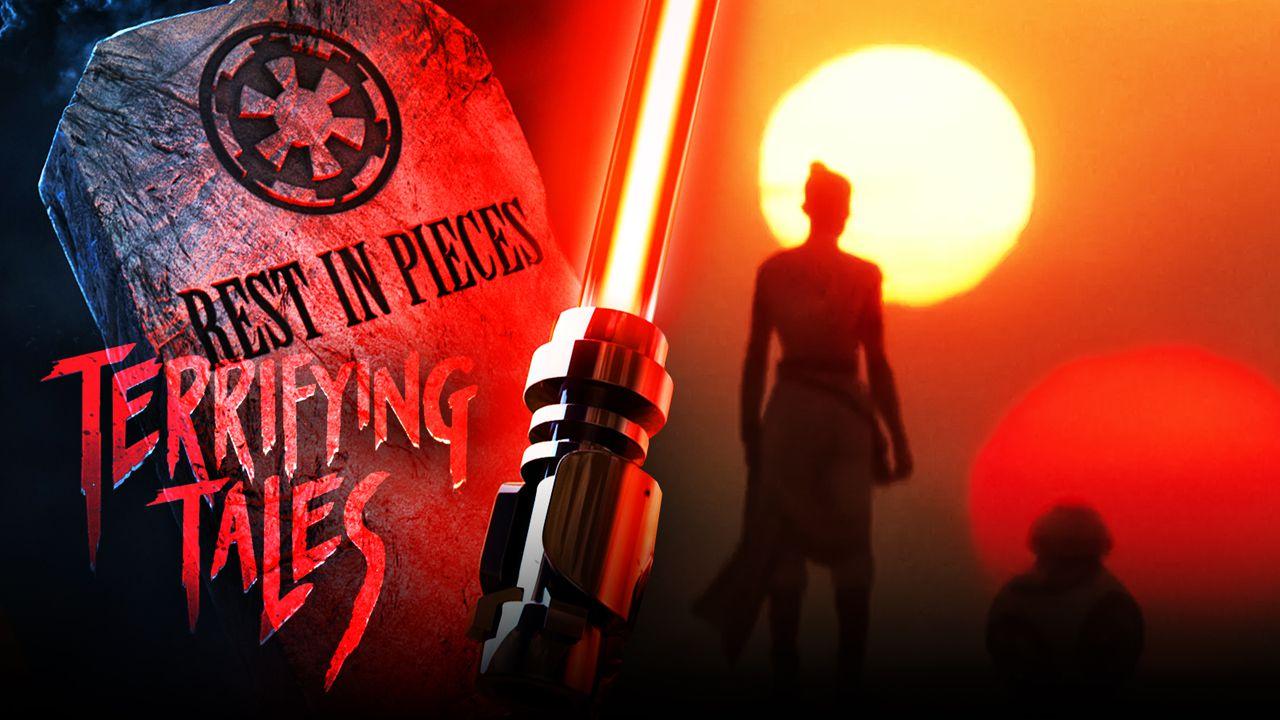 Star Wars, Lego, Terrifying Tales