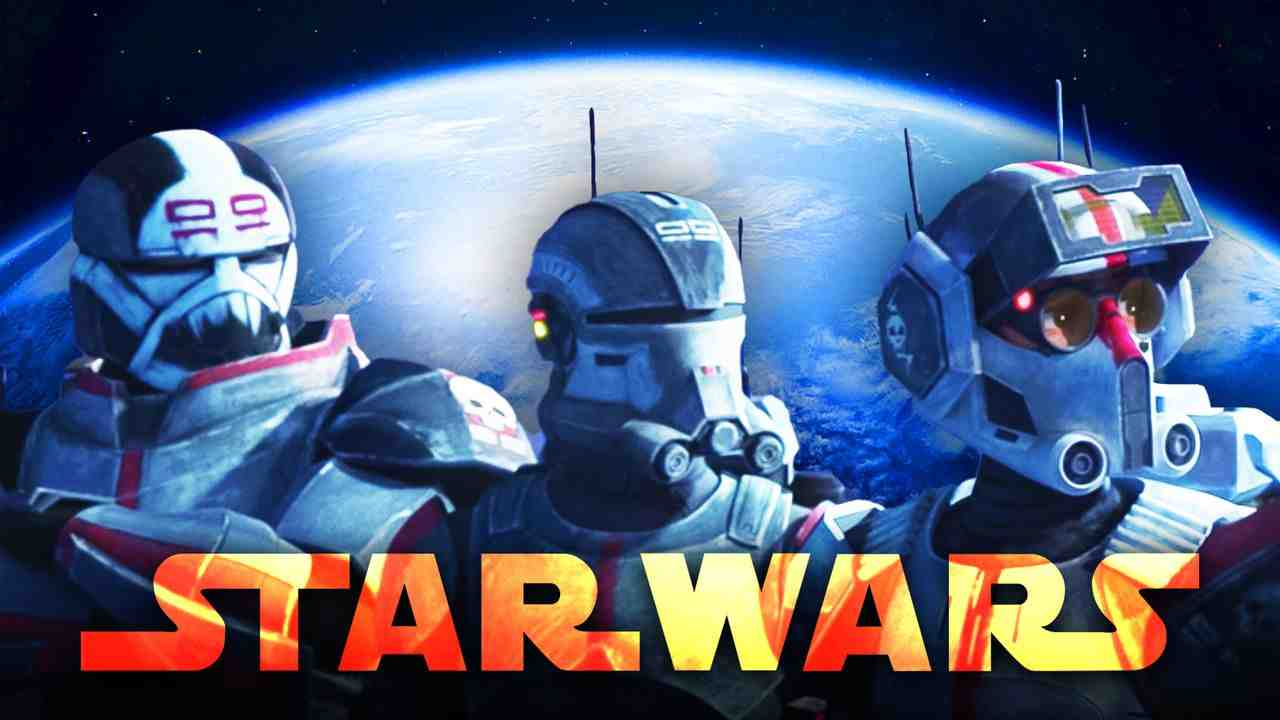 Star Wars Bad Batch Kamino