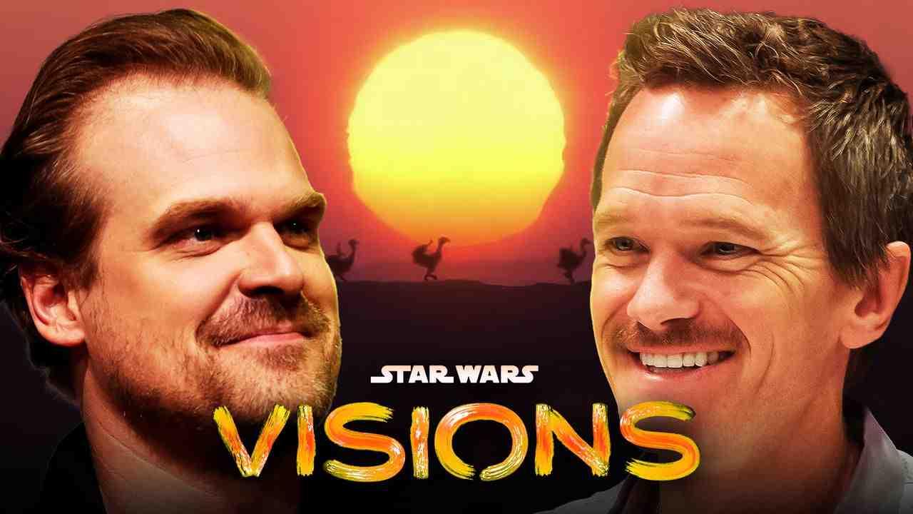 David Harbour Neil Patrick Harris Star Wars Visions