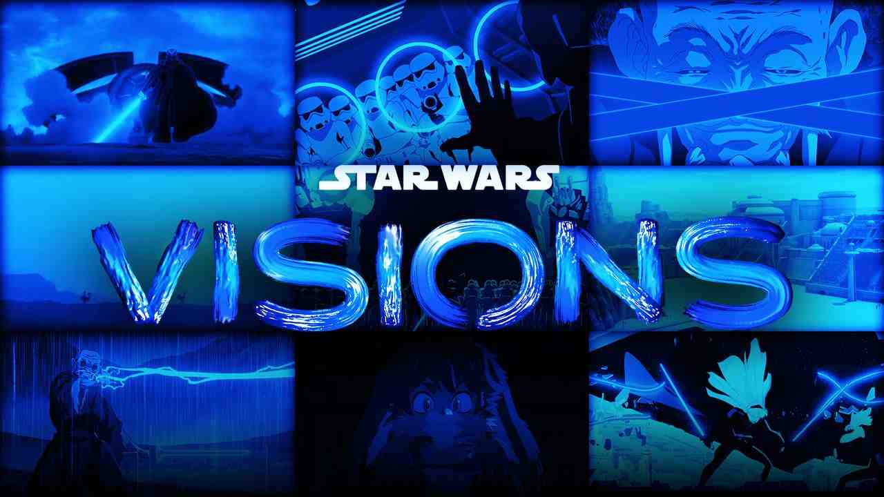 Star Wars: Visions logo, Disney+ show