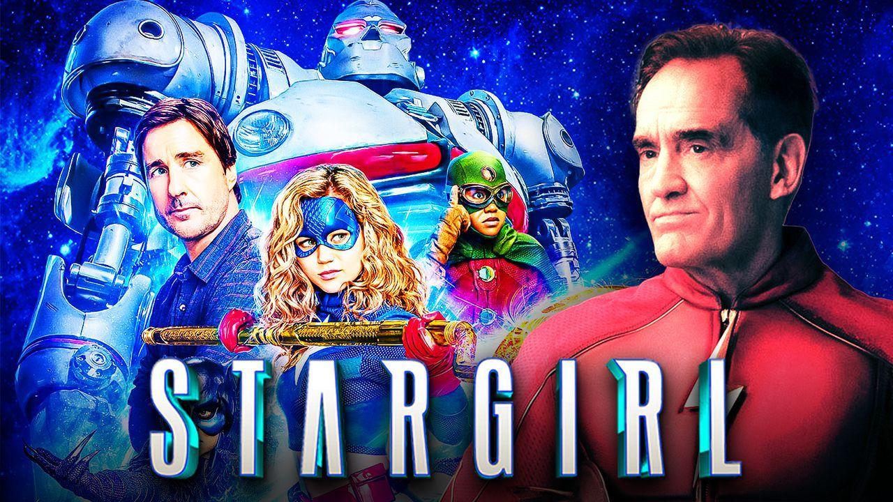 Stargirl logo, John Wesley Shipp as The Flash