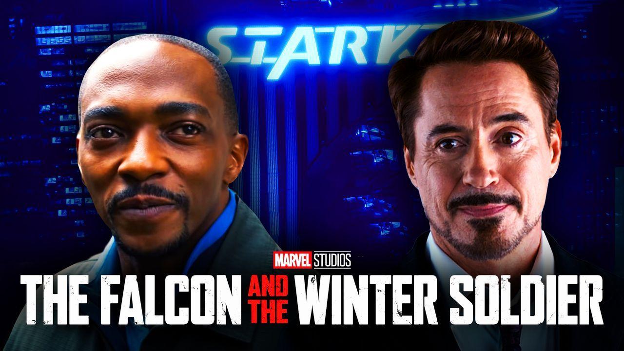 Sam Wilson Tony Stark The Falcon and the Winter Soldier