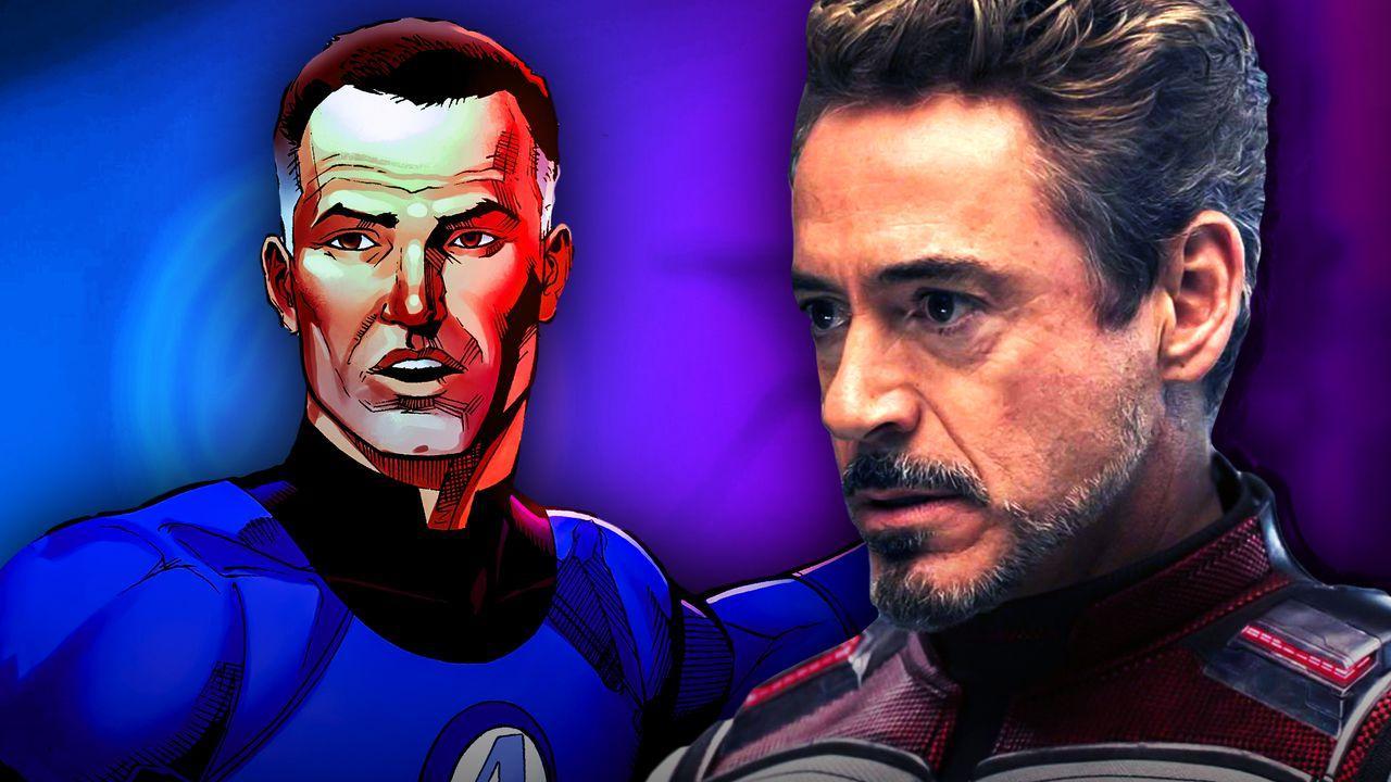 Mister Fantastic, Tony Stark