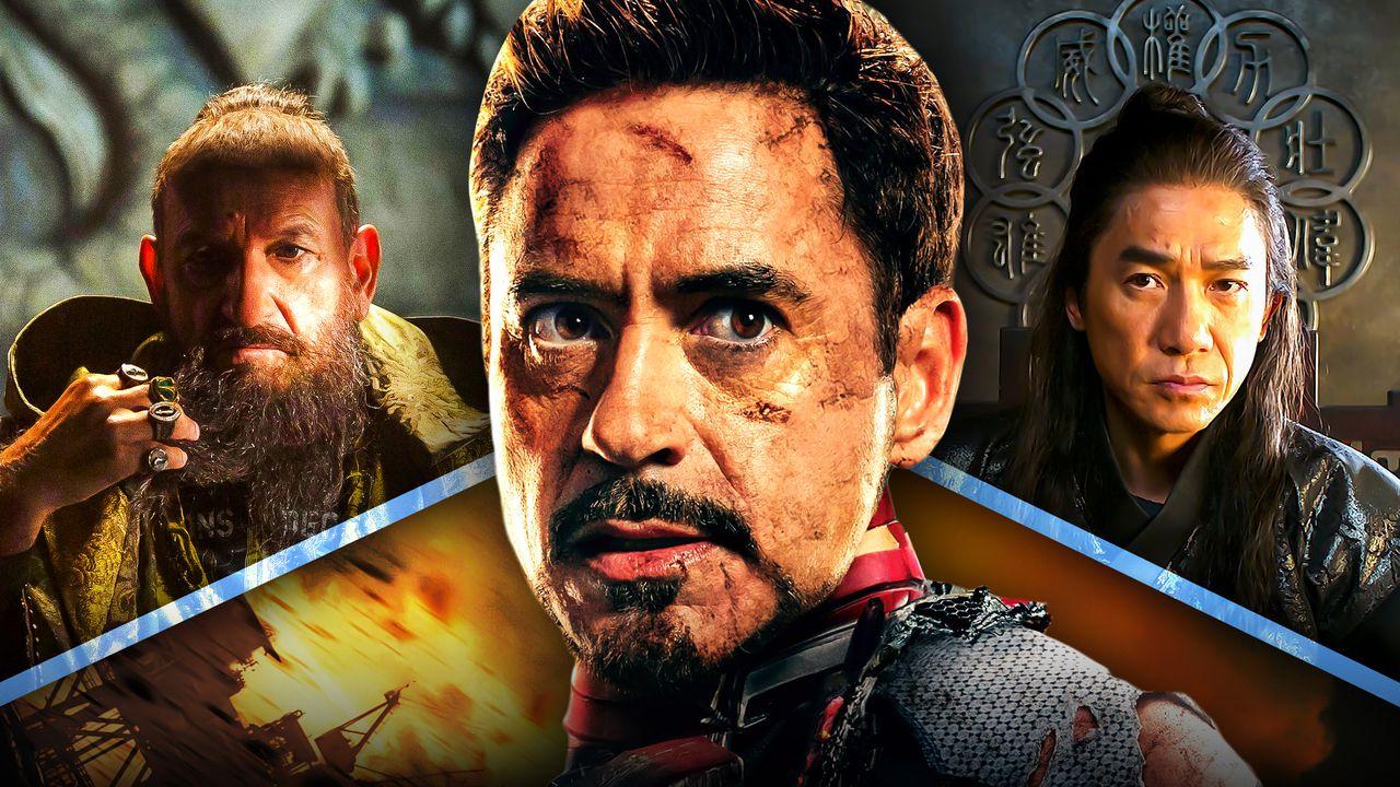Tony Stark Robert Downey Jr Mandarin