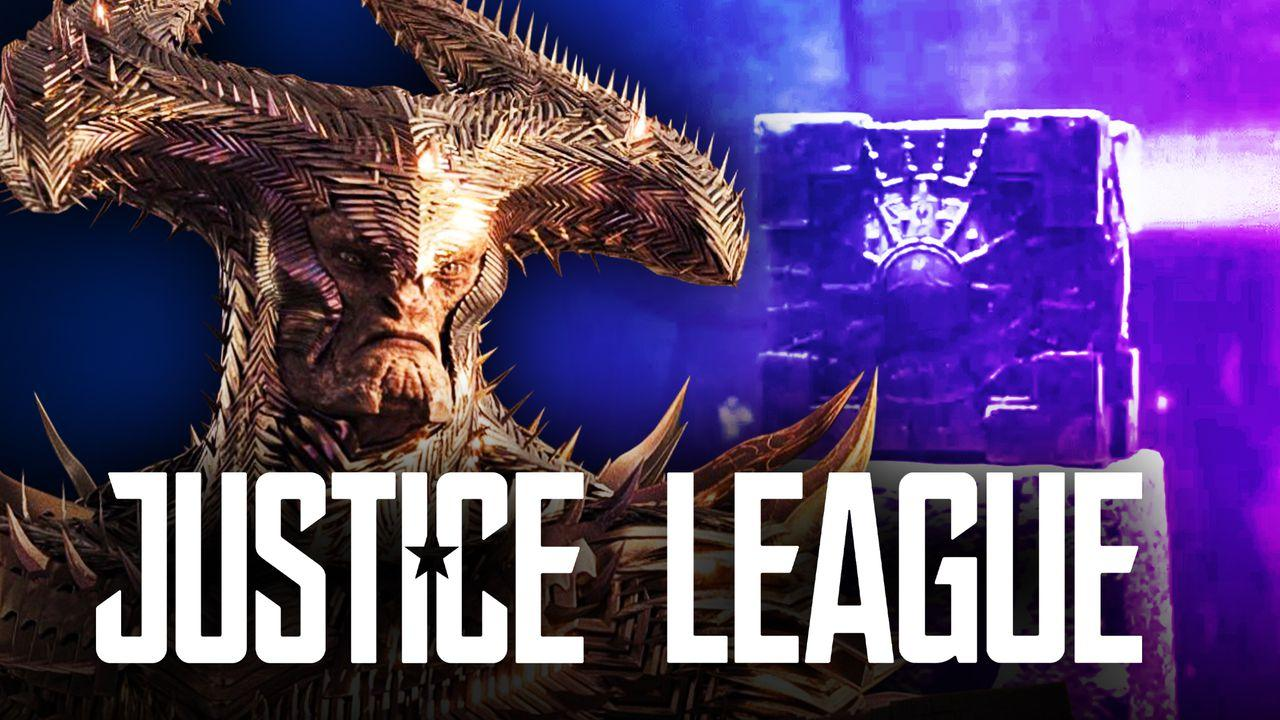Steppenwolf Motherbox Justice League logo
