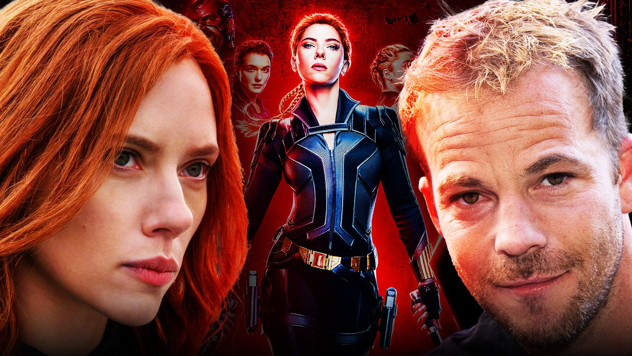 Stephen Dorff, Scarlett Johansson as Natasha Romanoff