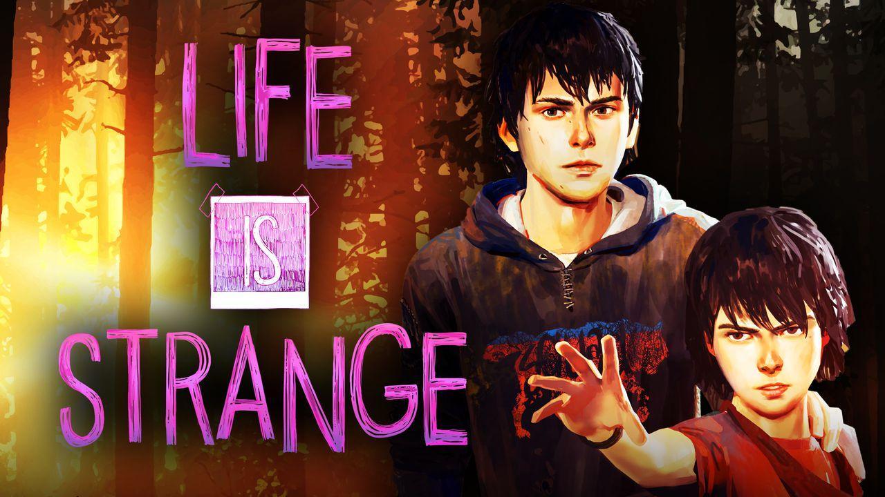 Life Is Strange Logo Background
