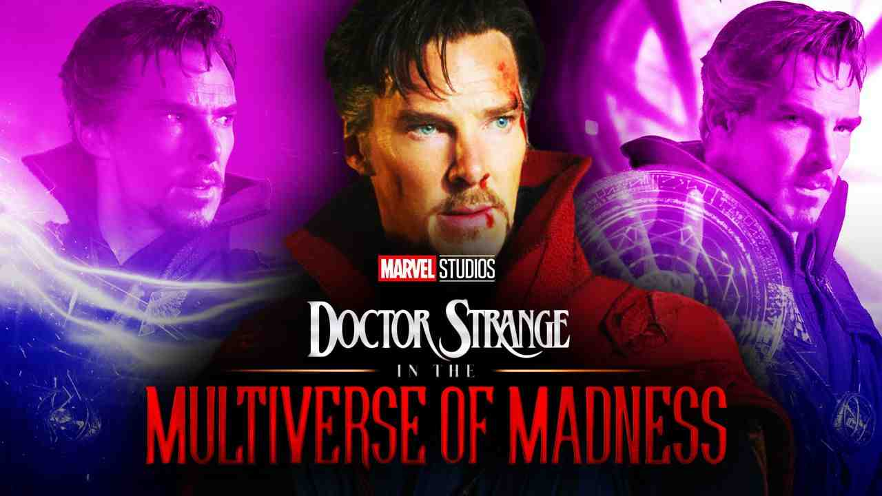 Benedict Cumberbatch Doctor Strange In the Multiverse of Madness logo