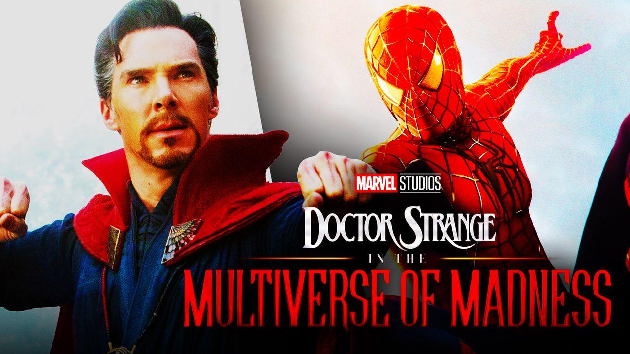 Doctor Strange and Tobey Maguire Spider-Man