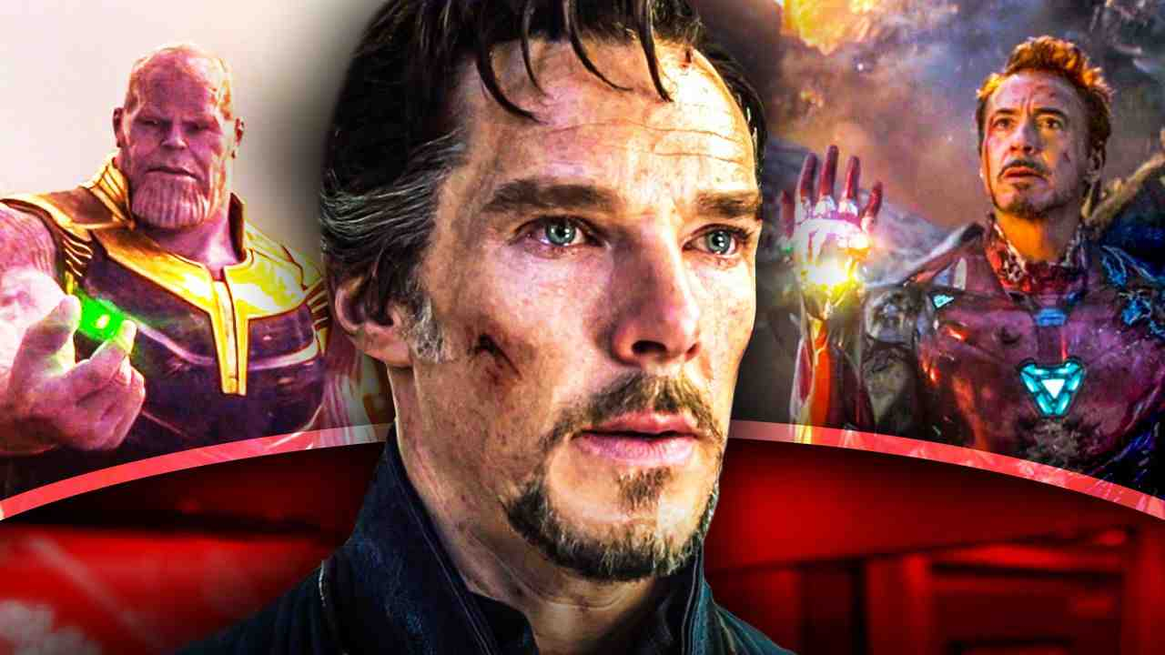 Doctor Strange, Thanos Tony Stark
