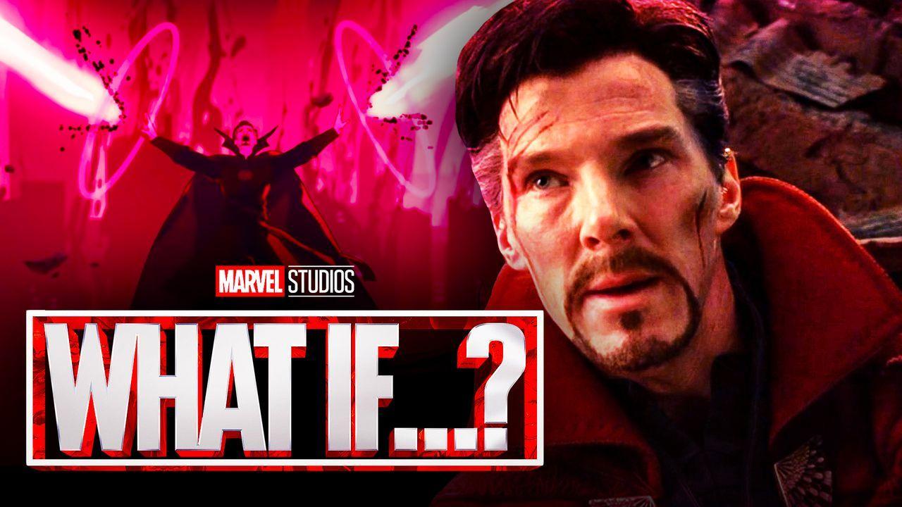 Doctor Strange, What If logo