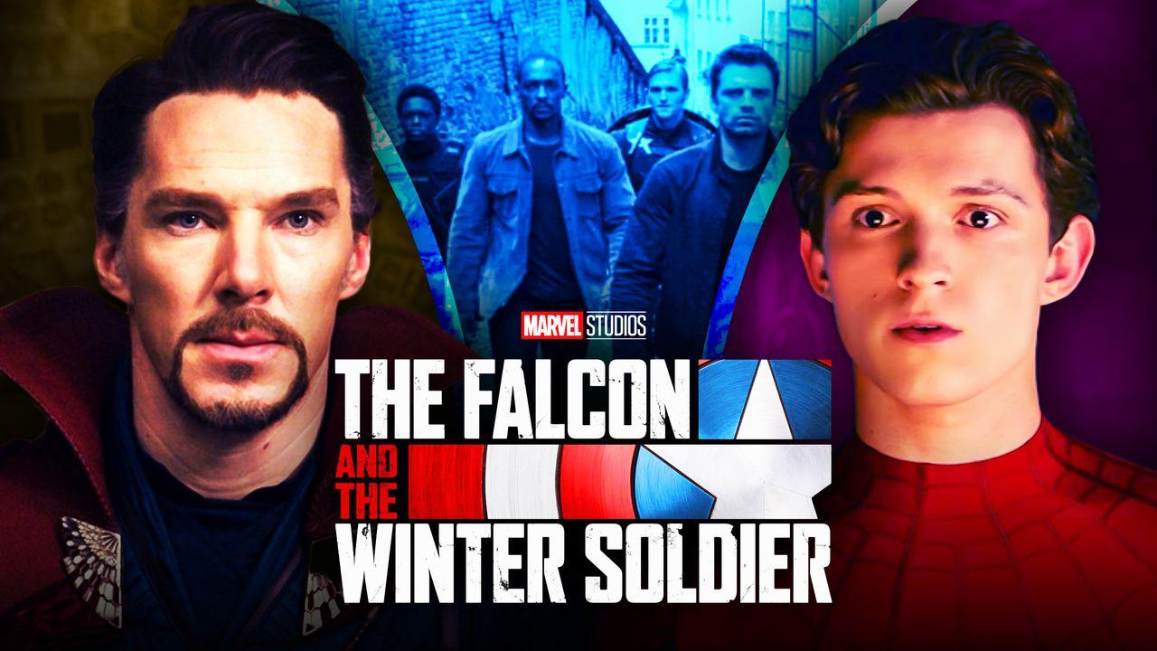 Benedict Cumberbatch Doctor Strange Tom Holland Spider-Man Falcon and Winter Soldier