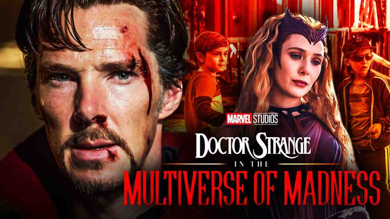 Doctor Strange and Scarlet Witch for Doctor Strange in the Multiverse of Madness