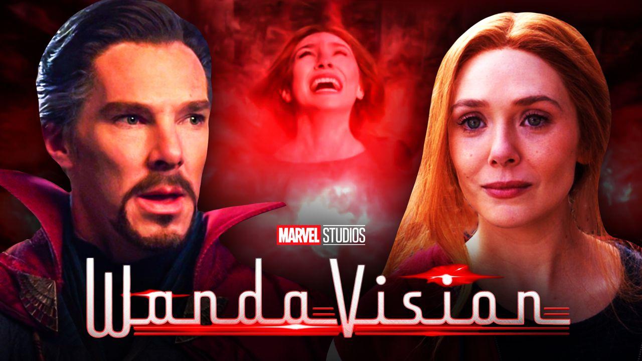 Doctor Strange Scarlet Witch WandaVision logo