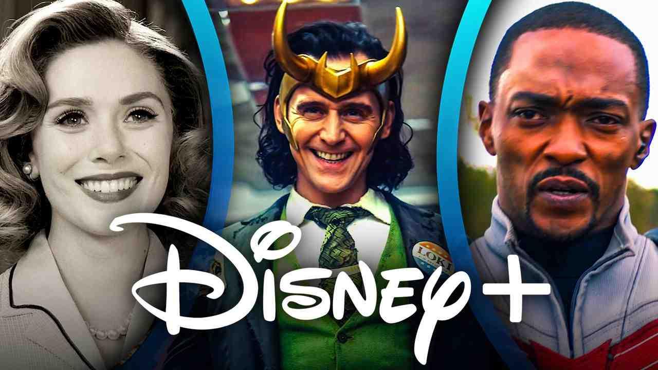 WandaVision, Loki, Falcon, Disney Plus Logo