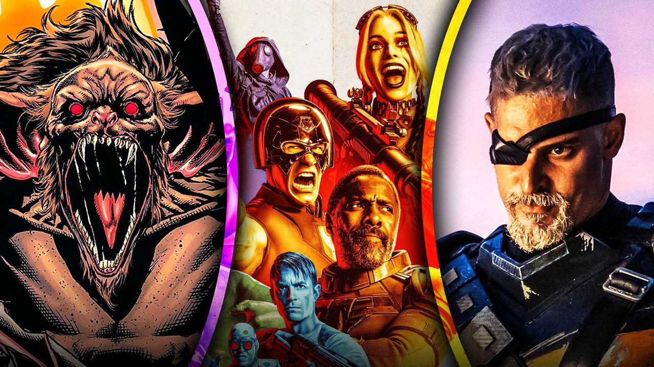 Suicide Squad Deathstroke Man-Bat