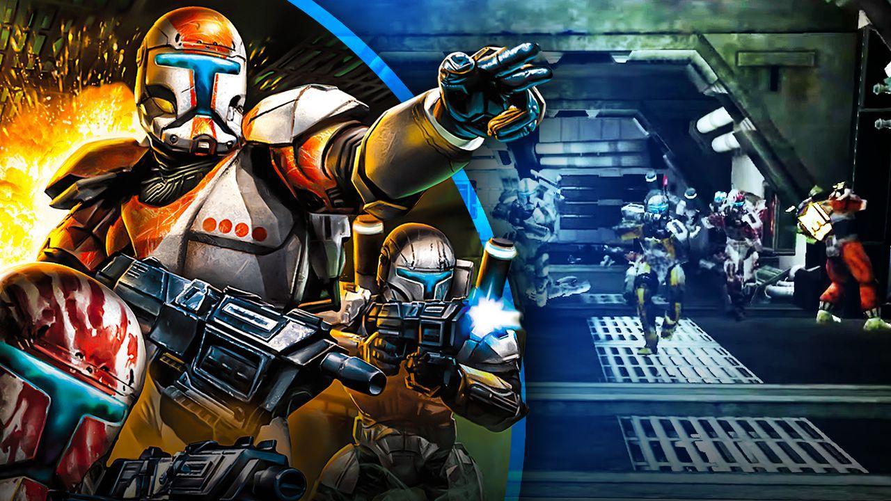 Star Wars Republic Commando background