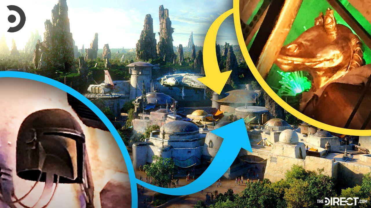 Star Wars Galaxy's Edge Map and Easter Eggs