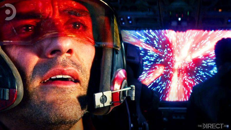 Poe Dameron and Hyperspace
