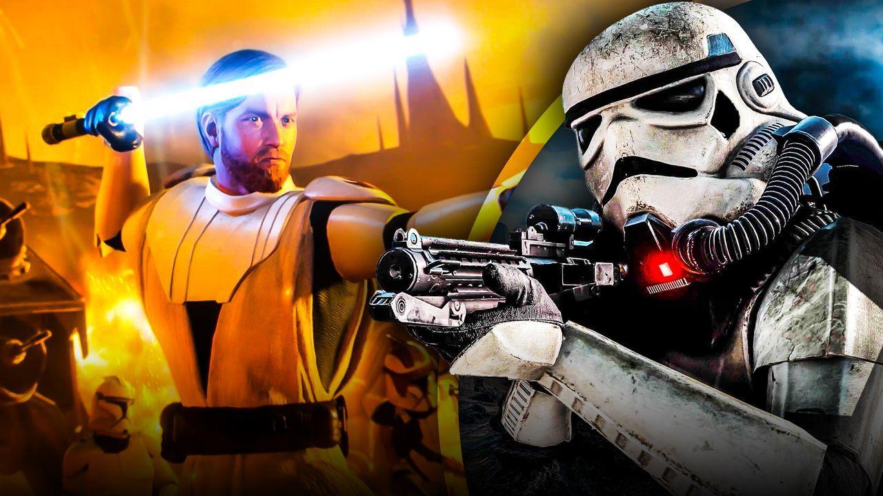 Star Wars Battlefront 2 Gameplay Obi Wan Kenobi