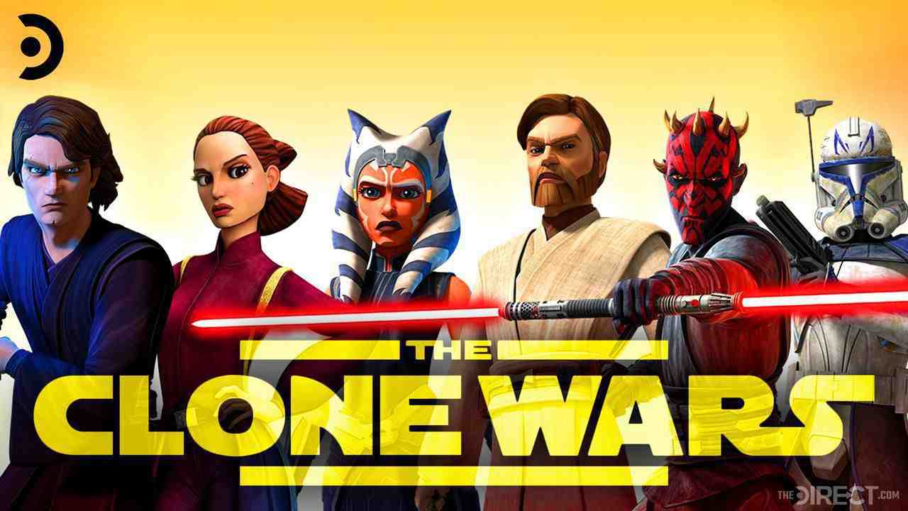 Star Wars: Clone Wars logo. Anakin Skywalker, Ahsoka Tano, Darth Maul