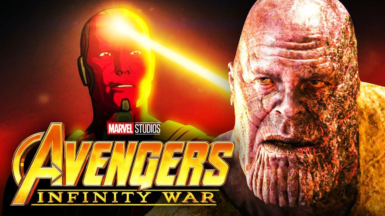 Avengers: Infinity War, Thanos, Vision