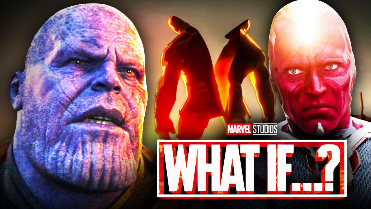 Thanos, Vision, Marvel's What If Death