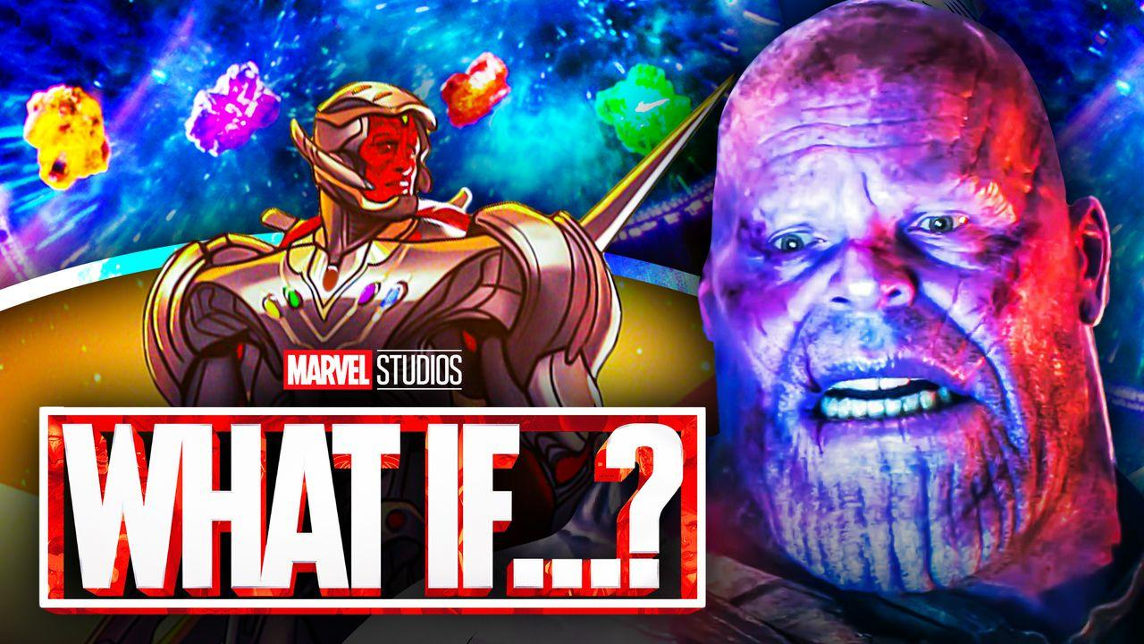 Thanos Infinity Stones Ultron Vision What If