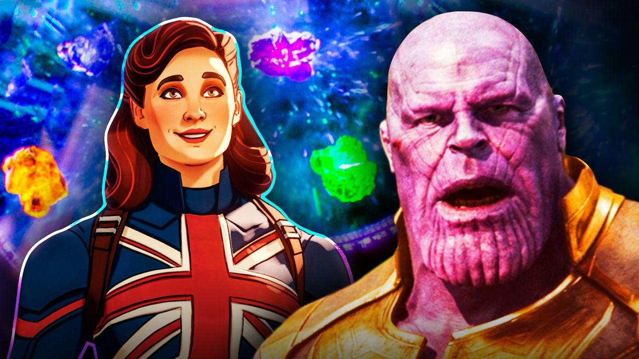 Thanos, Captain Carter Infinity Stones