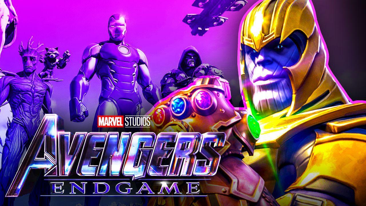 Thanos Avengers Endgame Fortnite Skin