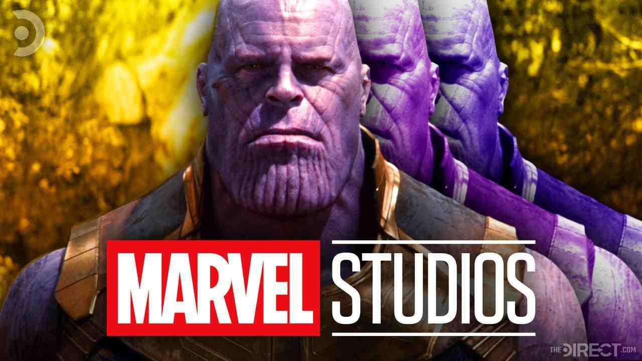 Thanos, Marvel Studios logo