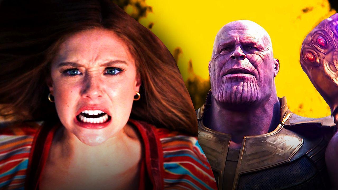 Wanda Maximoff WandaVision Thanos