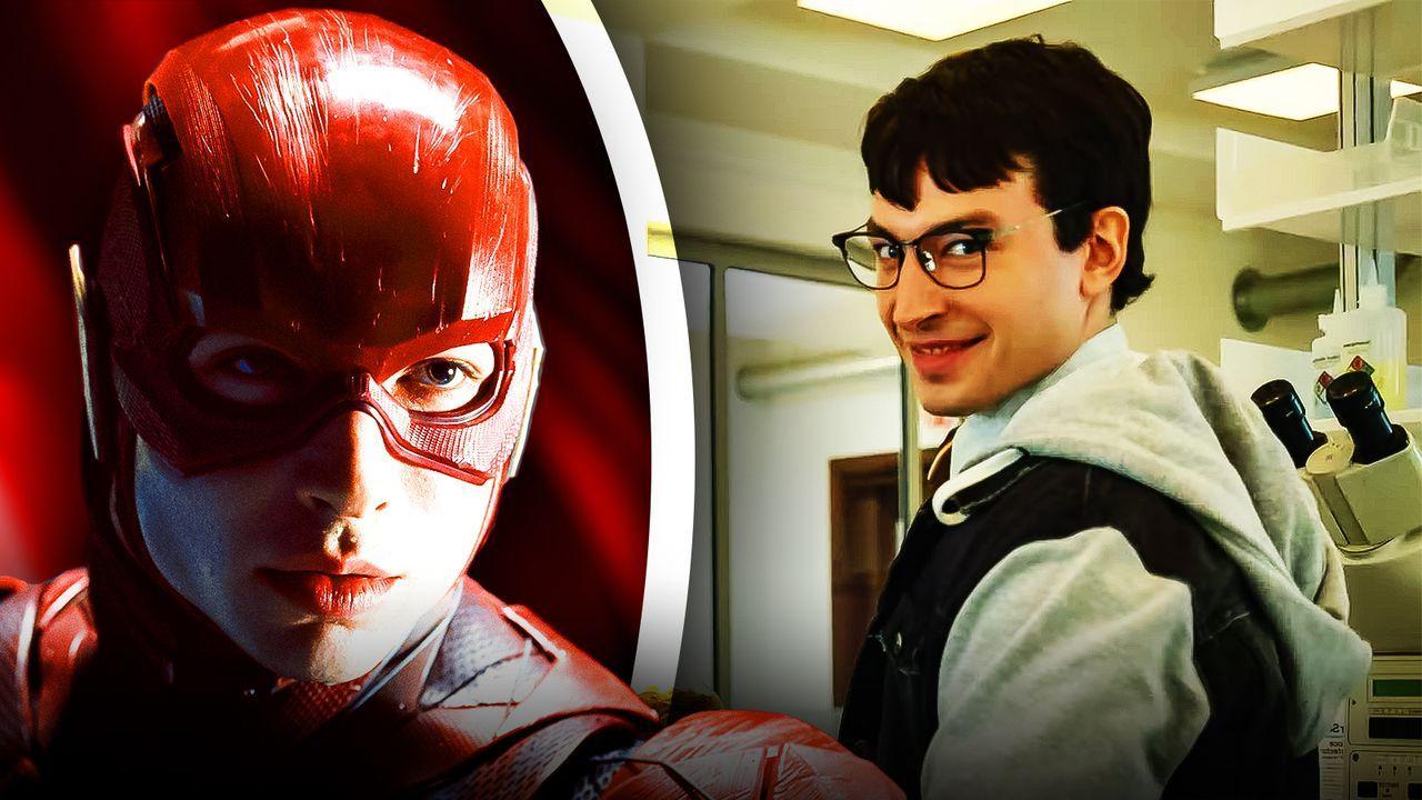 Ezra Miller as Barry Allen, The Flash