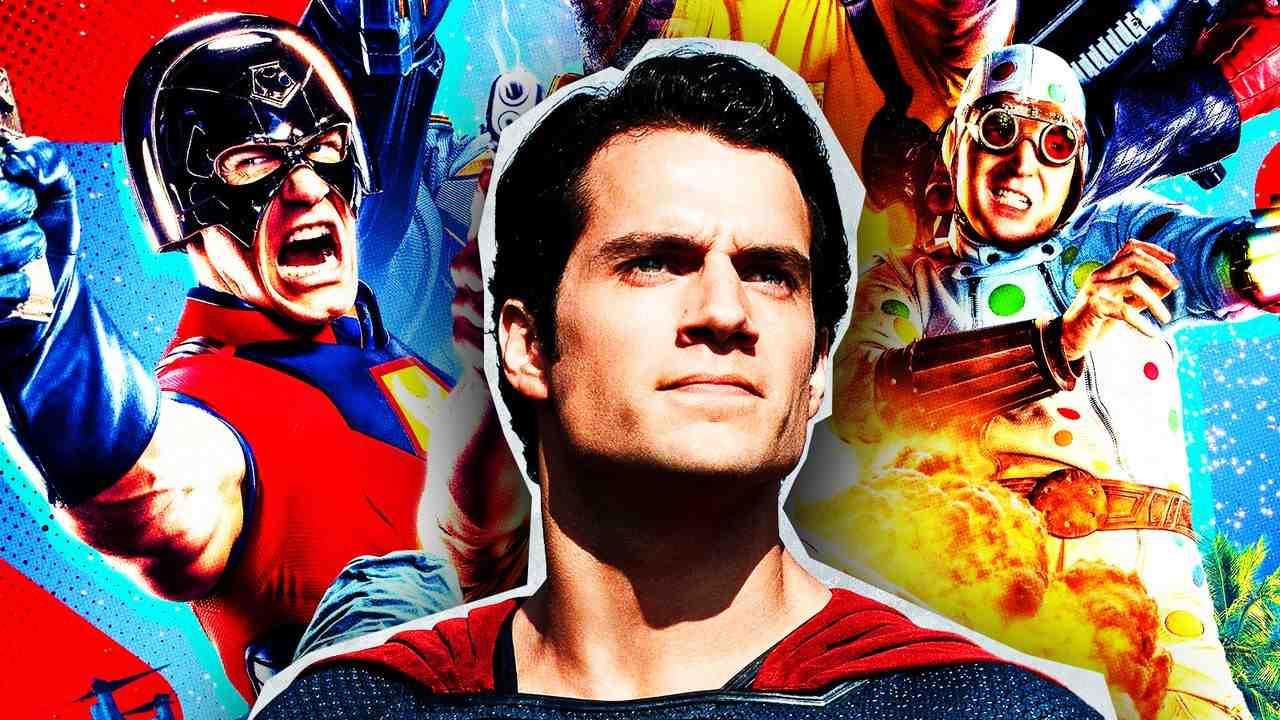 Superman, Peacemaker, The Suicide Squad, John Cena, Henry Cavill
