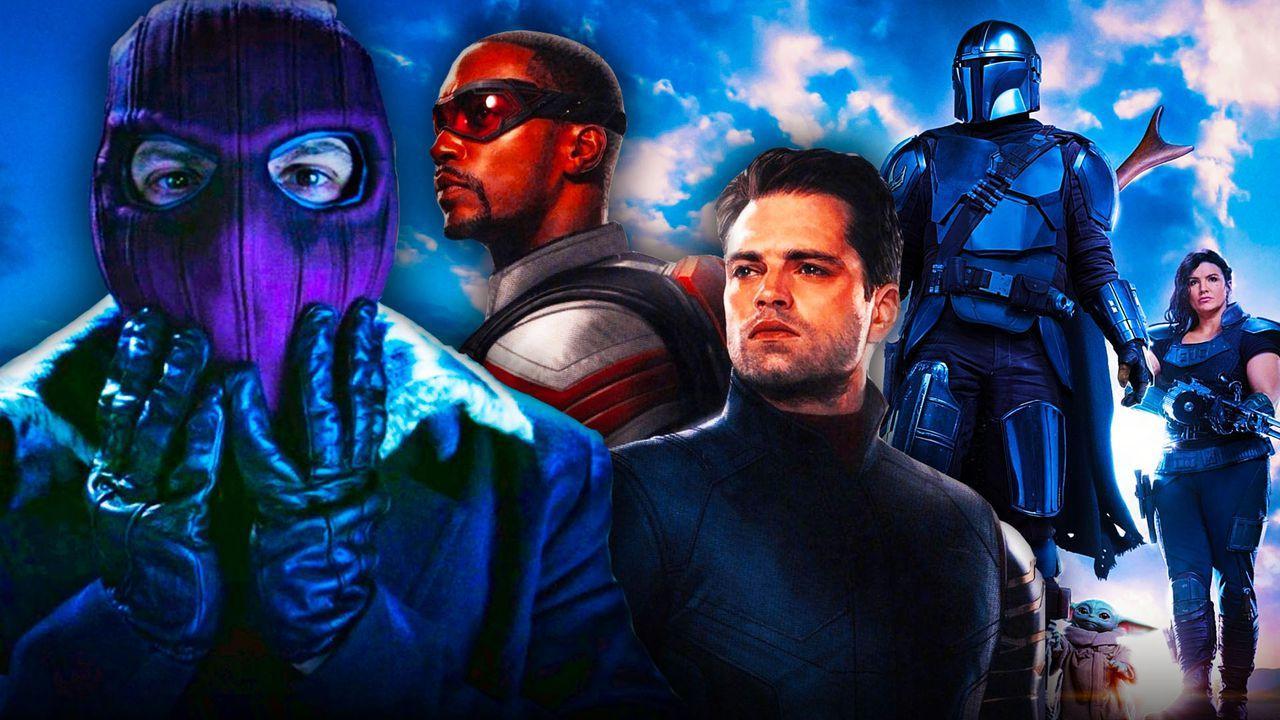 Zemo, Falcon, Winter Soldier, Mandalorian, Cara Dune