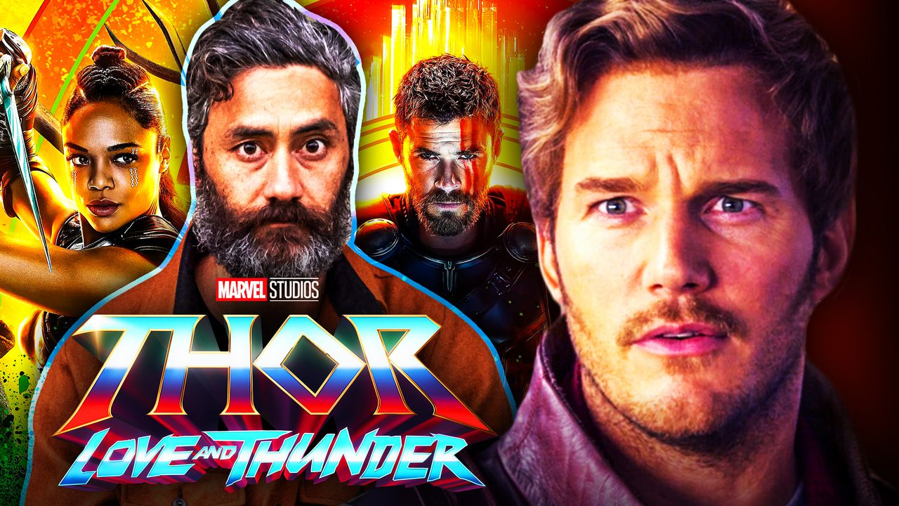 Chris Pratt Star Lord Taika Waititi Thor