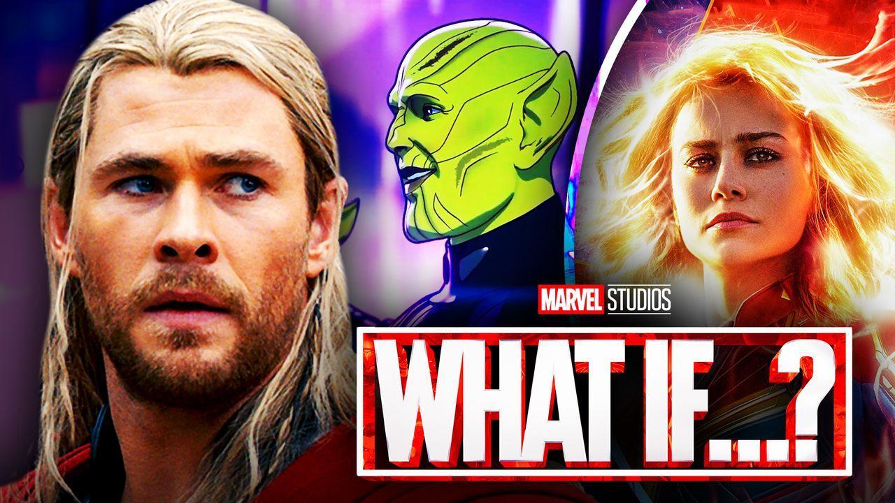 Thor, Skrulls, Captain Marvel