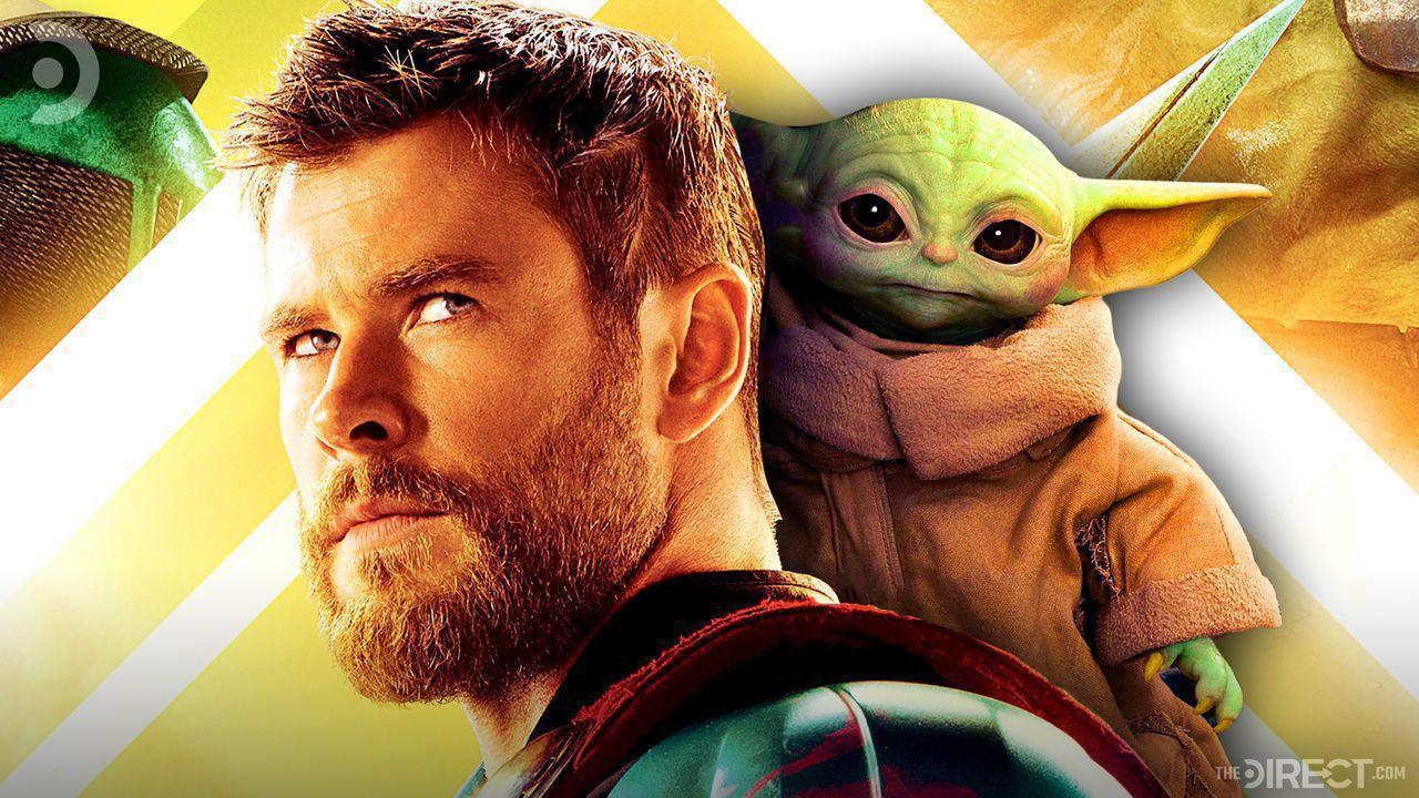 Thor and Baby Yoda