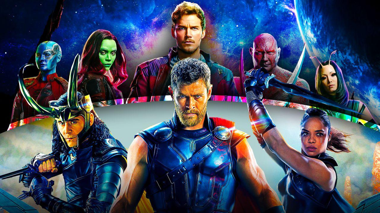 Thor, Guardians of the Galaxy