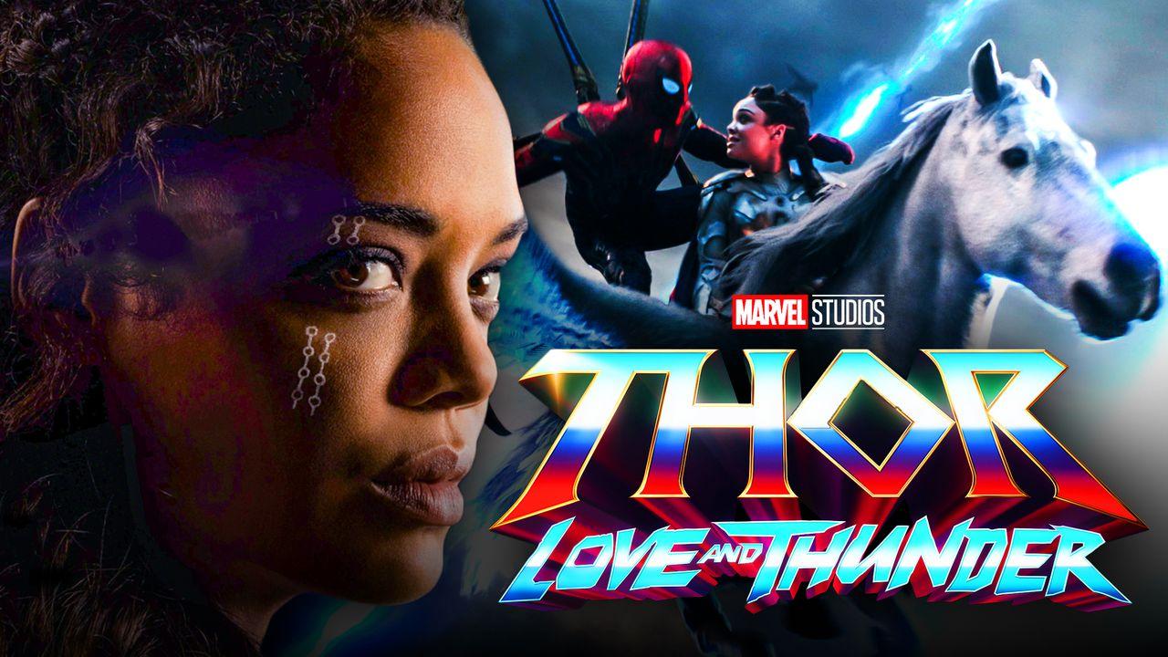 Valkyrie Tessa Thompson Horse Avengers Endgame