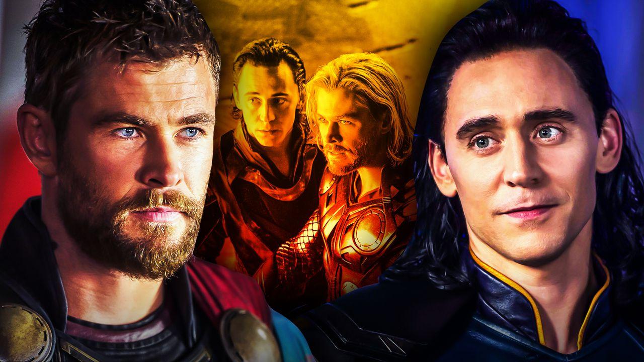 Chris Hemsworth Tom Hiddleston Thor Loki Together