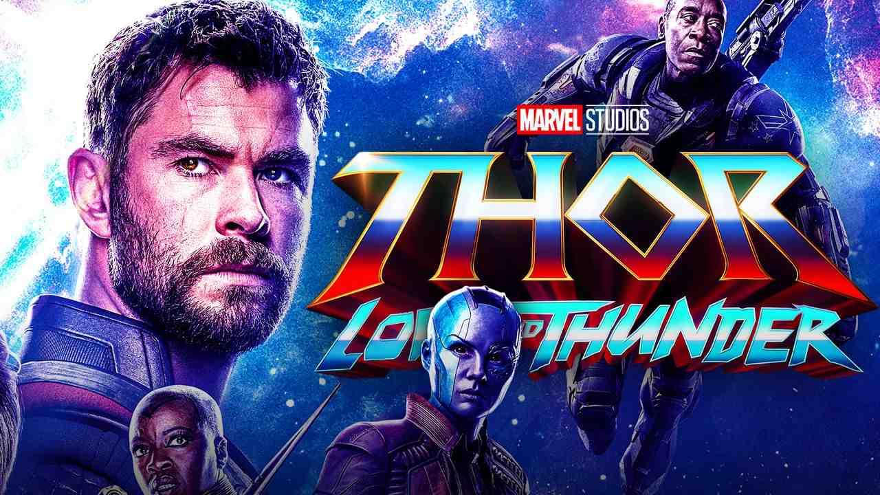 Thor, New Thor: Love and Thunder logo